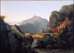The Last of the Mohicans painting by Thomas Cole 1827