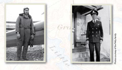 Photos of Clarence Petty in the Navy