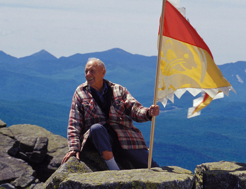 Clarence Petty on Whiteface Mountain