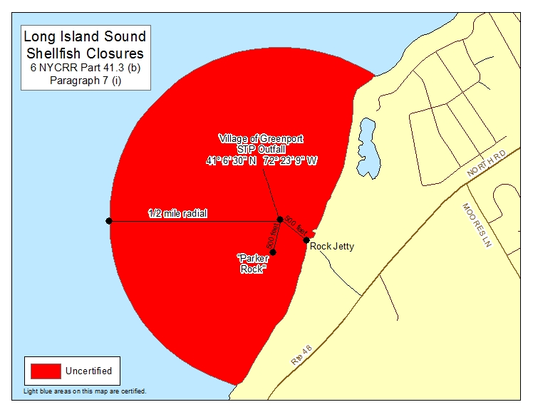 an image of Long Island Sound Shellfish Closures