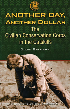 Front cover of the book Another Day, Another Dollar, the Civilian Conservation Corps in the Catskills