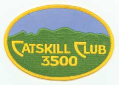 Catskill 3500 Club patch