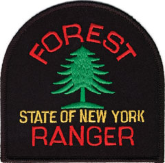 A forest ranger patch