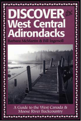 Discover the West Central Adirondacks cover