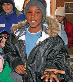 students visit Rogers Environmental Education Center