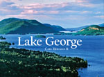 The cover of a landscape photography book on Lake George