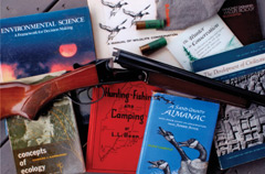 Hunter education equipment and books