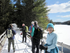 Skiers enjoy Santanoni in the Adirondacks