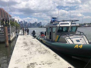 ECO boat docked at marina