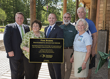 Five Rivers Environmental Education Center ribbon cutting