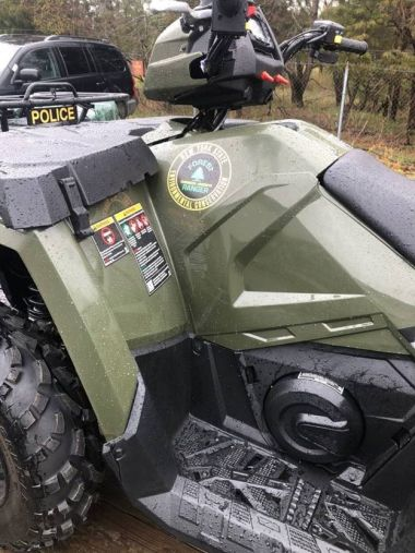 Close-up of Forest Ranger ATV