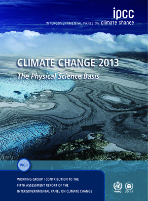 Cover of climate Change 2013 book