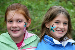Reinstein Woods Face Painting