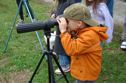 Learn how to use a spotting scope!