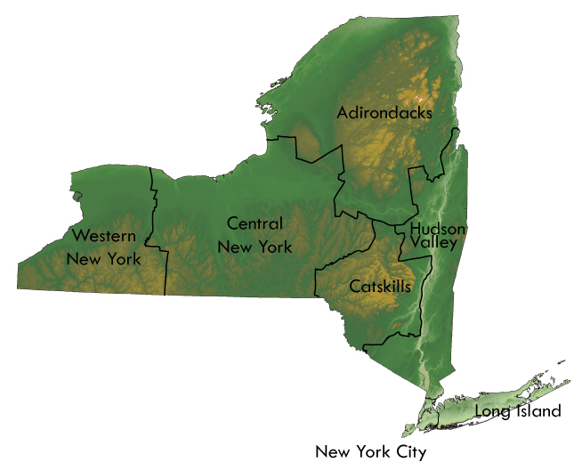 Find a watchable wildlife location near you nys dept of for Ny dec fishing license