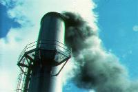 Picture of smokestack
