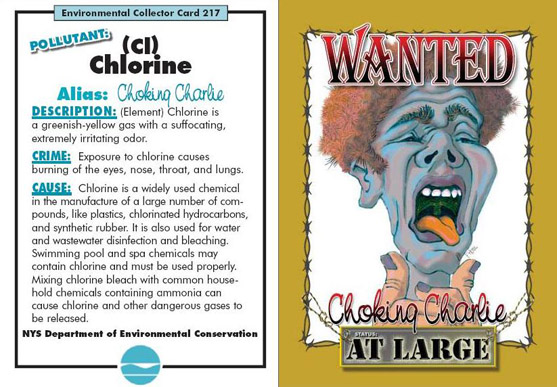Choking Charlie (Pollutant: Chlorine) Air Villain