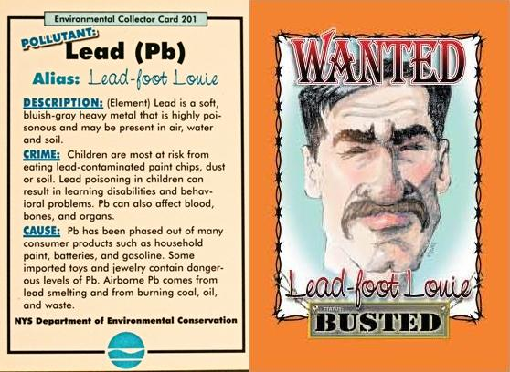 Lead-Foot Louie (Pollutant: Lead) Air Villain