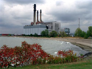 The Dunkirk Generating Station is located on Lake Erie