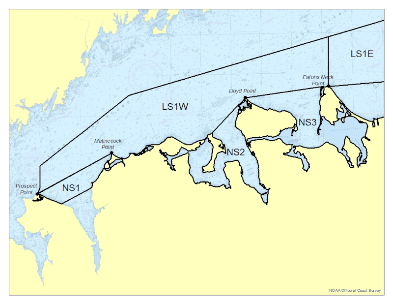 Large map of areas affected by the Vibrio Control Plan