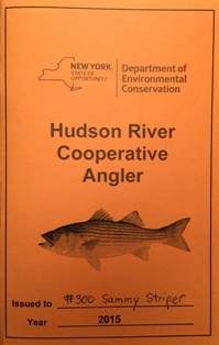 cover of a Cooperative Angler logbook