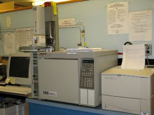 Gas Chromatograph used for contaminant analysis