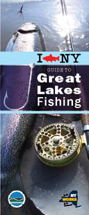 Image of I FISH NY Guide to Great Lakes Fishing brochure