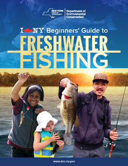 I FISH NY Beginners' Guide to Freshwater Fishing cover