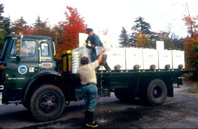 image of a hatchery truck