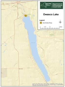 Small map of Owasco Lake