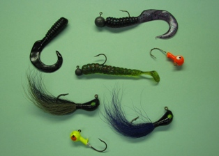 Photo of jig types for walleye fishing