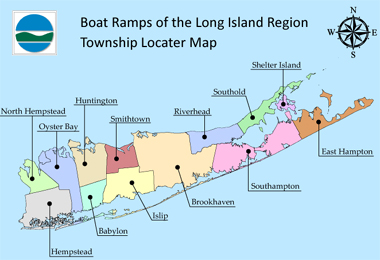 Long Island Township Locater Map