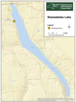 Skaneateles Lake map