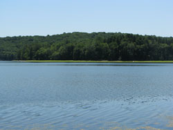Image of Titicus Reservoir.