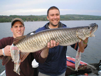 An angler acheivement award winning tiger muskie