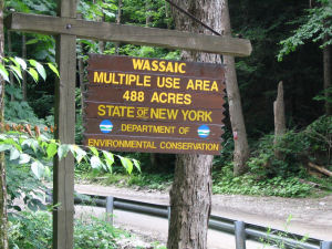 Wassaic's facility sign