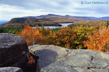 A photo taken of the Catskills by photographer Carl Heilman II