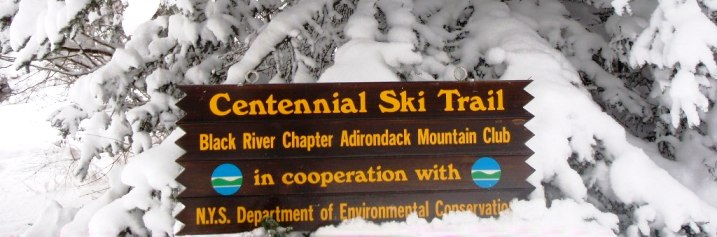 Centennial Ski Trail Sign