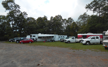 Moscow Hill camping and assemboy area can accommodate campers
