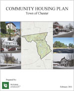 Cover of Town of Chester Community Housing Plan