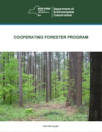 The cover of the Cooperating Forester Program pdf