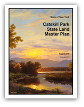 Catskill Park State Land Master Plan cover