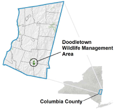 Doodletown WMA Locator Map