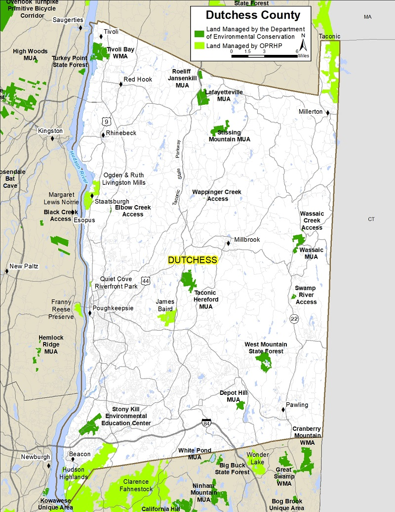Map Of Dutchess County Ny Dutchess County Map   NYS Dept. of Environmental Conservation Map Of Dutchess County Ny