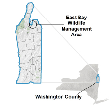 East Bay WMA Locator Map