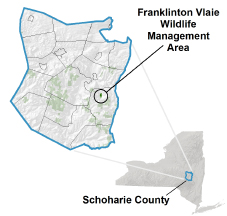 Franklinton Vlaie WMA Locator Map