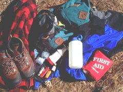 hiking safety supplies