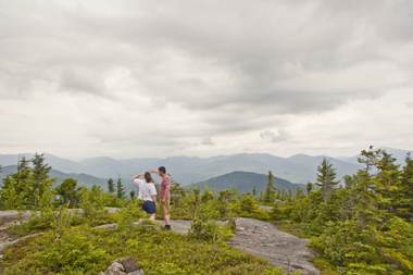 Summit of Jay Mountain Wilderness