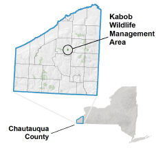 Kabob WMA locator map