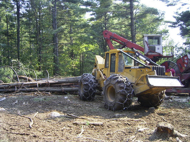 Timber Harvest Operation